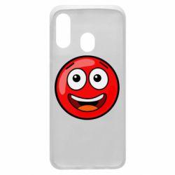 Чохол для Samsung A40 Funny Red Ball