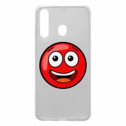Чохол для Samsung A60 Funny Red Ball