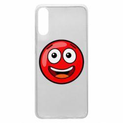 Чохол для Samsung A70 Funny Red Ball