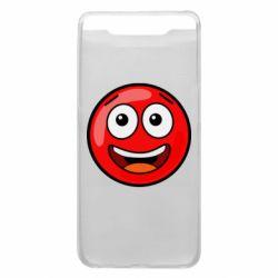 Чохол для Samsung A80 Funny Red Ball
