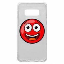 Чохол для Samsung S10e Funny Red Ball