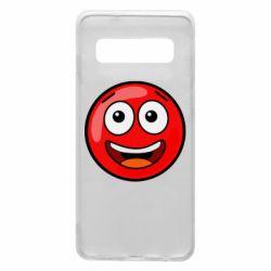 Чохол для Samsung S10 Funny Red Ball