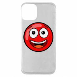 Чохол для iPhone 11 Funny Red Ball