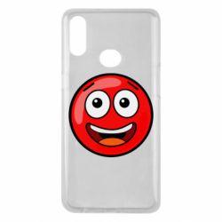 Чохол для Samsung A10s Funny Red Ball