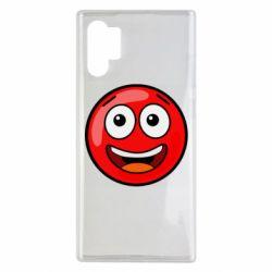 Чохол для Samsung Note 10 Plus Funny Red Ball