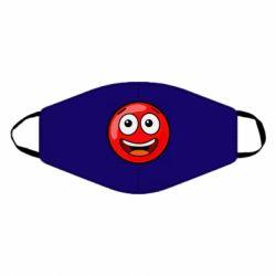 Маска для обличчя Funny Red Ball