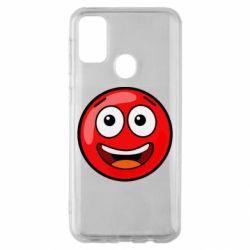 Чохол для Samsung M30s Funny Red Ball