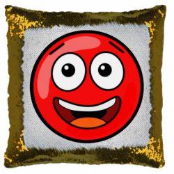 Подушка-хамелеон Funny Red Ball