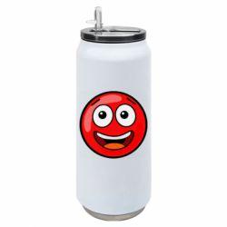 Термобанка 500ml Funny Red Ball