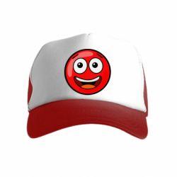 Дитяча кепка-тракер Funny Red Ball