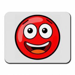 Килимок для миші Funny Red Ball
