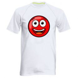 Чоловіча спортивна футболка Funny Red Ball