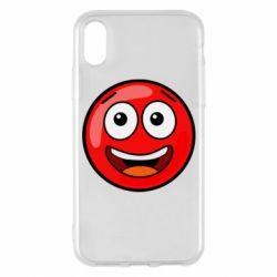 Чохол для iPhone X/Xs Funny Red Ball