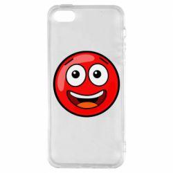 Чохол для iphone 5/5S/SE Funny Red Ball