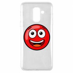 Чохол для Samsung A6+ 2018 Funny Red Ball