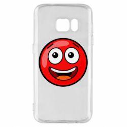 Чохол для Samsung S7 Funny Red Ball