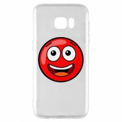 Чохол для Samsung S7 EDGE Funny Red Ball