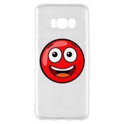 Чохол для Samsung S8 Funny Red Ball