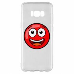 Чохол для Samsung S8+ Funny Red Ball