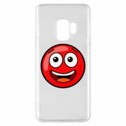 Чохол для Samsung S9 Funny Red Ball