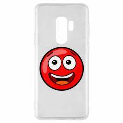Чохол для Samsung S9+ Funny Red Ball
