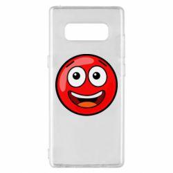 Чохол для Samsung Note 8 Funny Red Ball