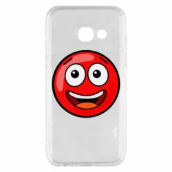 Чохол для Samsung A3 2017 Funny Red Ball