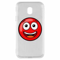 Чохол для Samsung J3 2017 Funny Red Ball