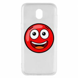 Чохол для Samsung J5 2017 Funny Red Ball