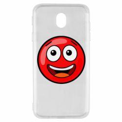 Чохол для Samsung J7 2017 Funny Red Ball