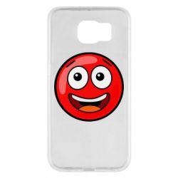 Чохол для Samsung S6 Funny Red Ball