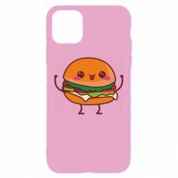 Чехол для iPhone 11 Funny sandwich