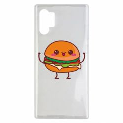 Чехол для Samsung Note 10 Plus Funny sandwich