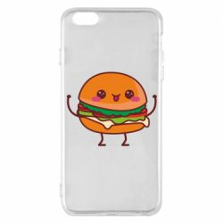 Чехол для iPhone 6 Plus/6S Plus Funny sandwich