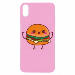 Чехол для iPhone X/Xs Funny sandwich