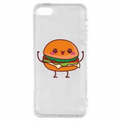 Чехол для iPhone5/5S/SE Funny sandwich