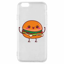 Чехол для iPhone 6/6S Funny sandwich