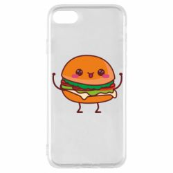 Чехол для iPhone 8 Funny sandwich
