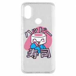 Чехол для Xiaomi Mi A2 Funny sushi