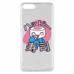 Чехол для Xiaomi Mi Note 3 Funny sushi