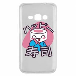 Чехол для Samsung J1 2016 Funny sushi