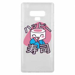 Чехол для Samsung Note 9 Funny sushi