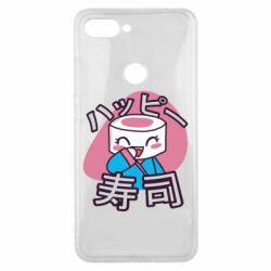 Чехол для Xiaomi Mi8 Lite Funny sushi
