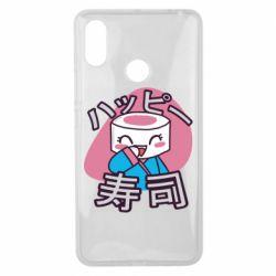 Чехол для Xiaomi Mi Max 3 Funny sushi