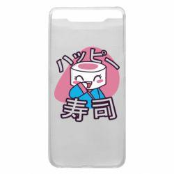 Чехол для Samsung A80 Funny sushi