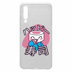 Чехол для Xiaomi Mi9 Funny sushi