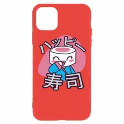 Чехол для iPhone 11 Funny sushi
