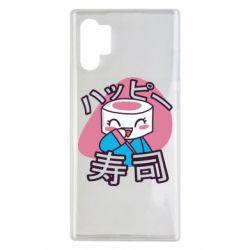 Чехол для Samsung Note 10 Plus Funny sushi