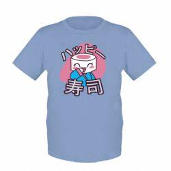 Детская футболка Funny sushi
