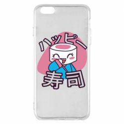 Чехол для iPhone 6 Plus/6S Plus Funny sushi